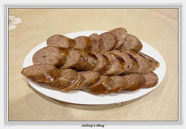 韓式烤肉醬紅糟香腸2.JPG