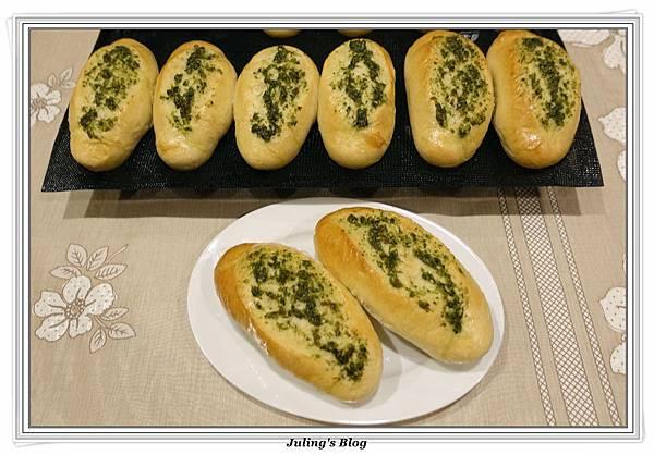 香菜蒜味麵包1.JPG