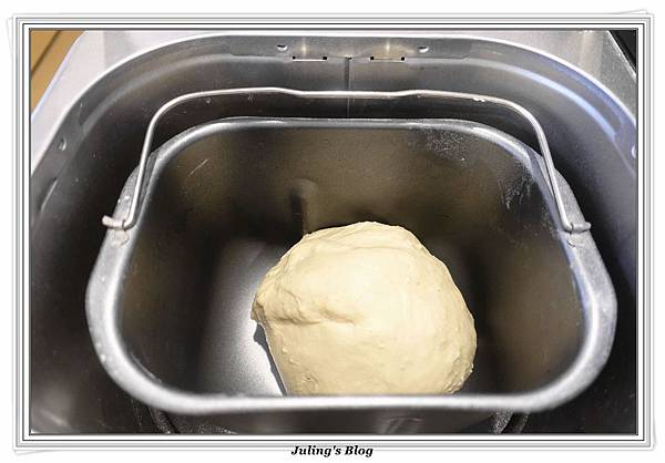 香菜蒜味麵包做法6.JPG