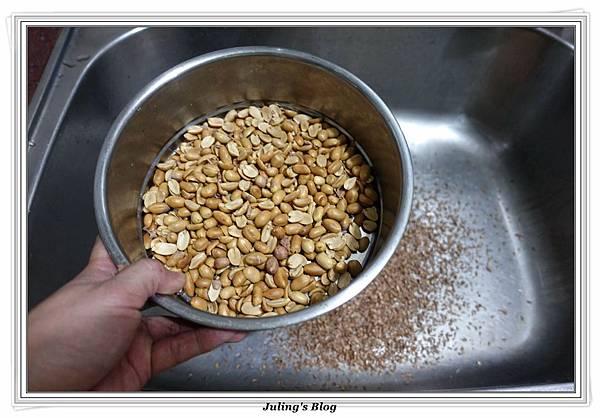自製花生醬%26;花生醬拌麵做法1.JPG