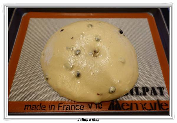 焦糖蔓越莓麵包做法14.JPG