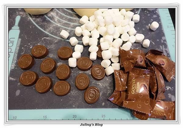 巧克力爆漿麵包做法8.JPG