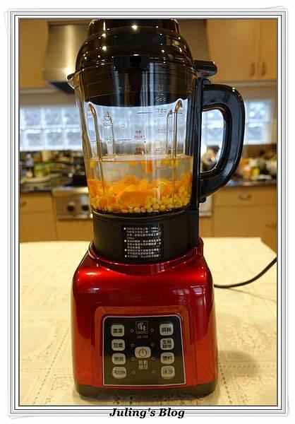 紅蘿蔔玉米豆漿做法4.JPG