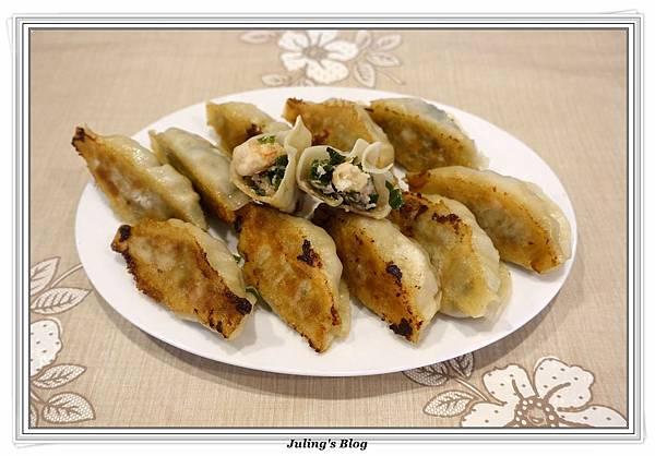 韭菜蝦仁鍋貼1.JPG