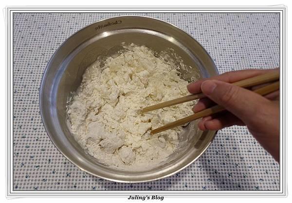 韭菜蝦仁鍋貼做法1.JPG