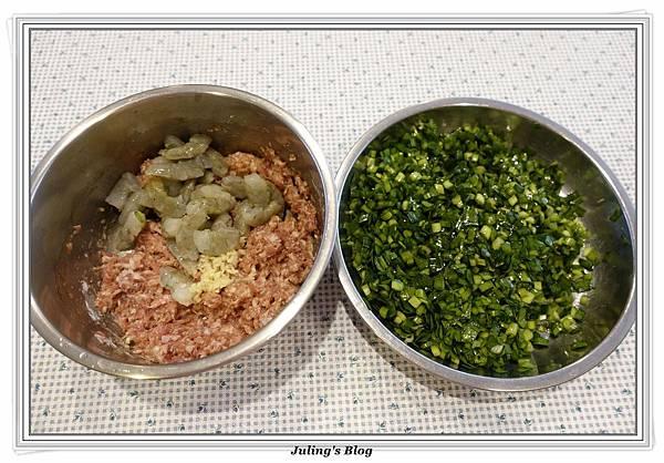 韭菜蝦仁鍋貼做法5.JPG