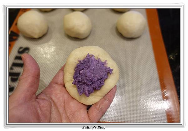紫薯夾心鬆餅做法8.JPG