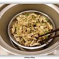 鹹蛋肉末蒸芋絲做法12.JPG