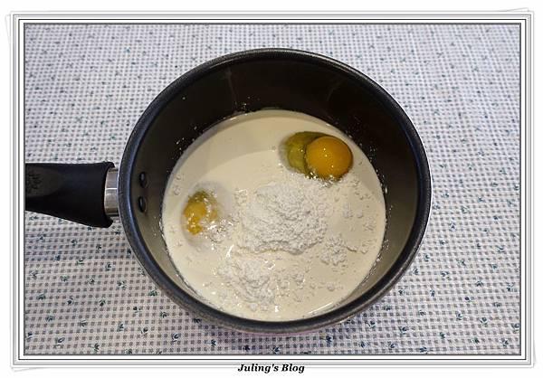 奶油乳酪餐包(奶黃餡)做法1.JPG