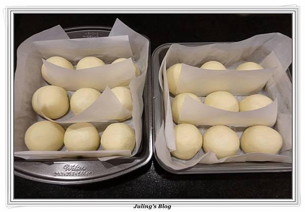 奶油乳酪餐包(奶黃餡)做法15.JPG