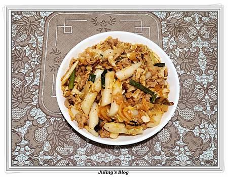 用氣炸鍋做韓式泡菜炒年糕2.jpg