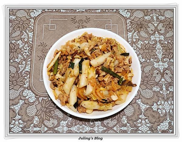 用氣炸鍋做韓式泡菜炒年糕1.jpg