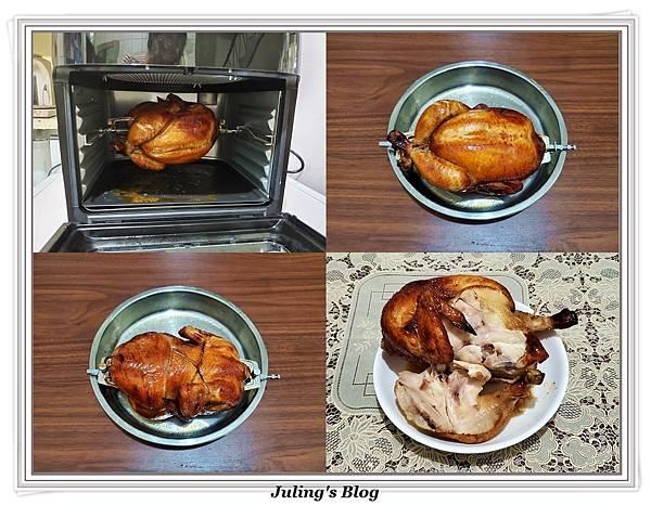 鍋寶氣炸烤箱烤雞4.jpg