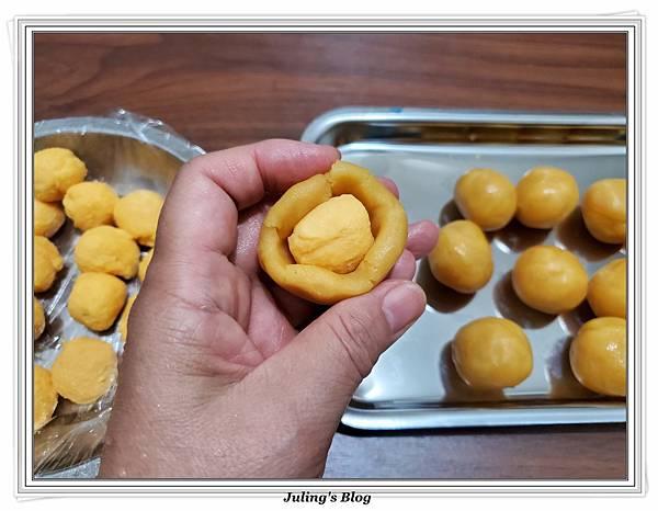 菠蘿流沙酥做法15.jpg
