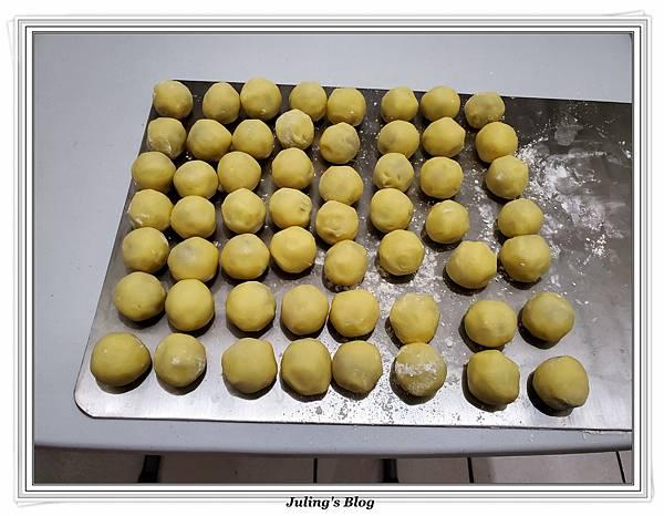 奶油乳酪鳳梨酥球做法8.jpg