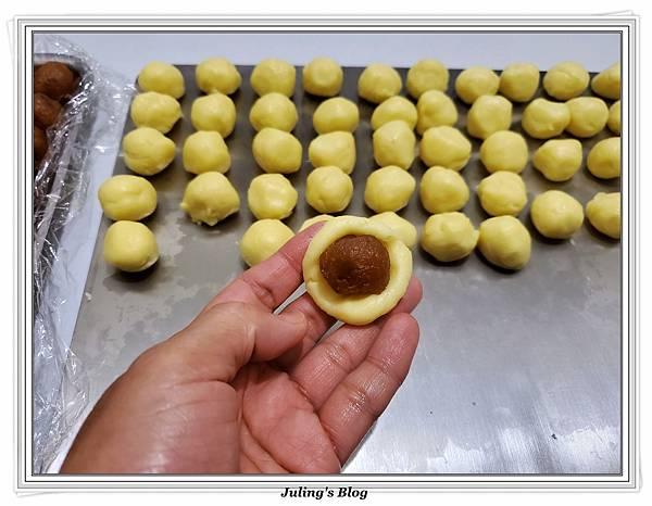 奶油乳酪鳳梨酥球做法7.jpg