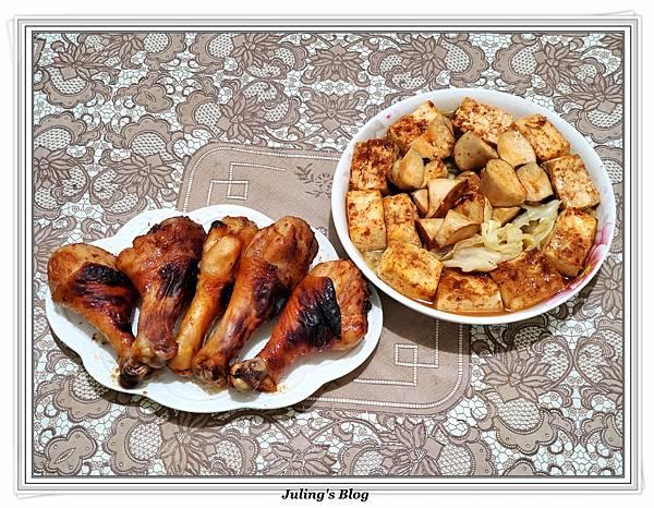 烤雞腿%26;紅燒豆腐做法15.jpg