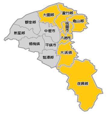 南北桃園圖