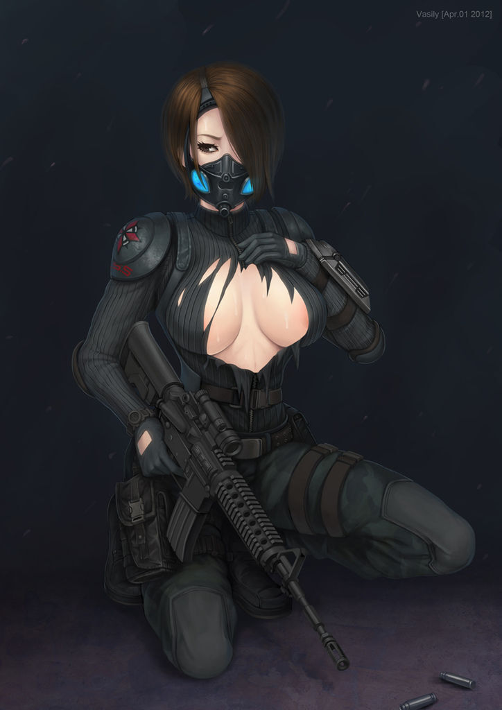 Four eyes - Resident Evil operation raccoon city