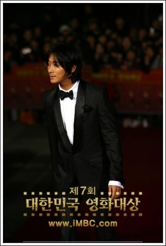 智勳出席第7屆大韓民國電影大賞頒獎典禮