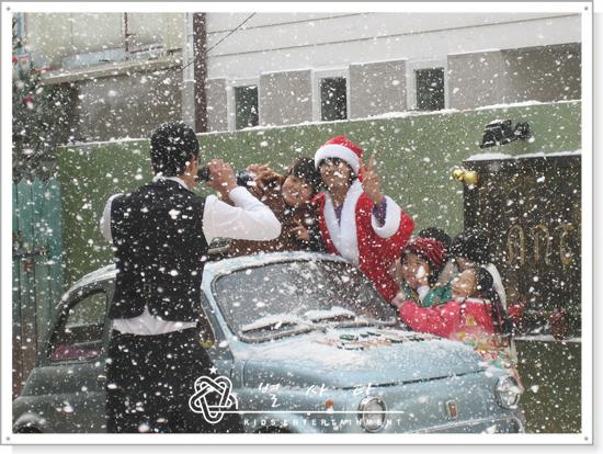 antique的白色聖誕