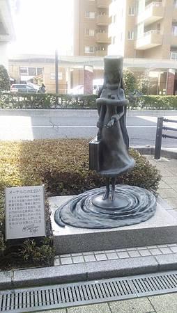 松本零士作品銅像系列2