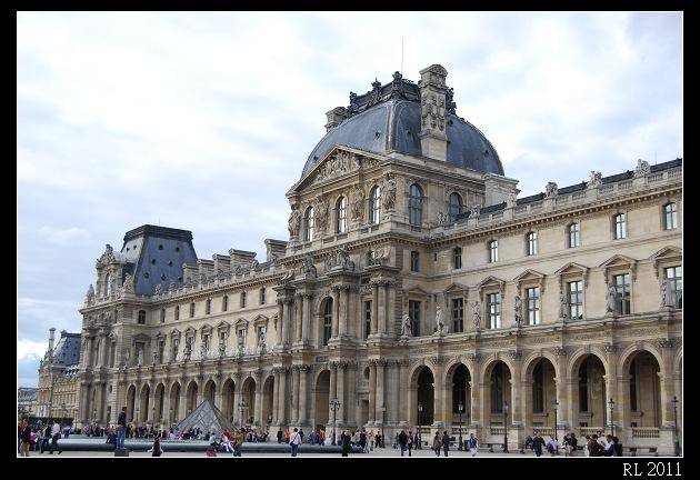 巴黎自助旅行 自助旅行 背包客 羅浮宮 達文西密碼