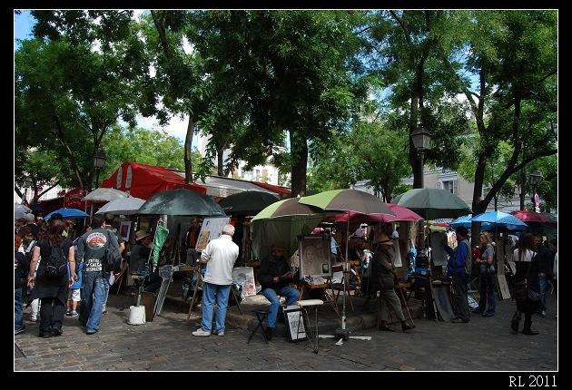 巴黎自助旅行 自助旅行 背包客 蒙馬特 聖心堂 帖特廣場