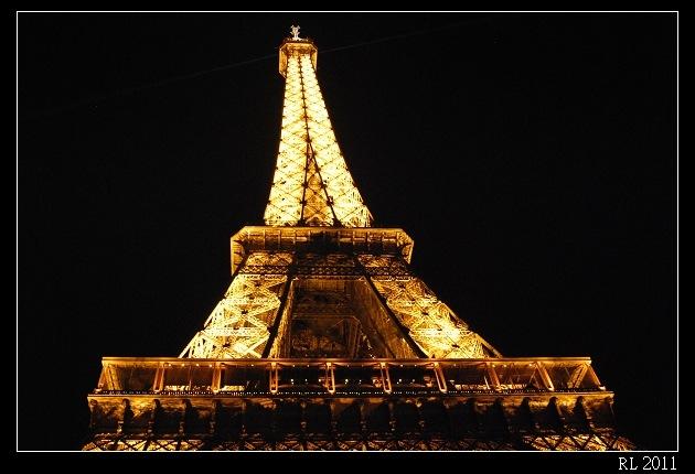 巴黎自助旅行 自助旅行 背包客 艾菲爾鐵塔 艾菲爾鐵塔晚餐