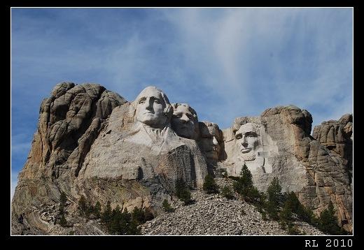 美國公路旅行 總統石像 Mt. Rushmore National Memorial