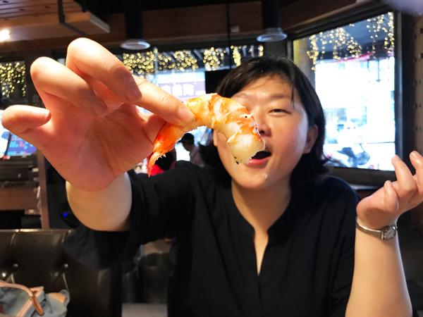 台中西屯區 雲火日式燒肉 草蝦.jpg