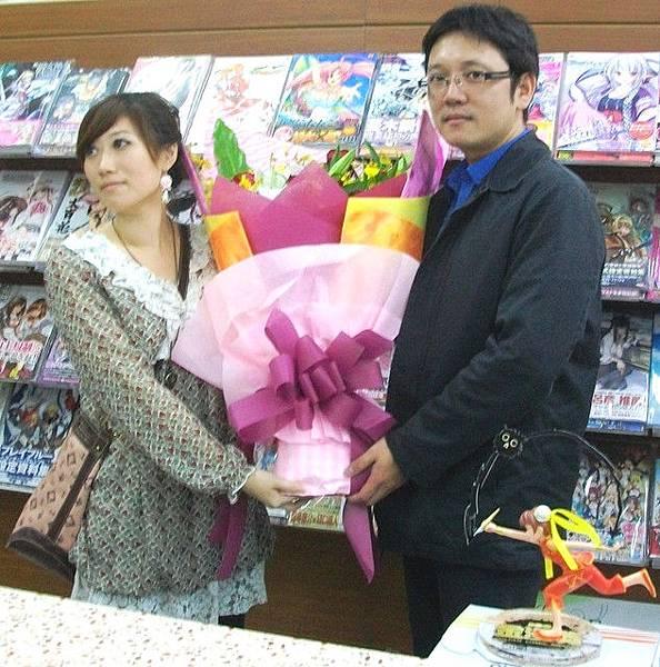 2011年金漫獎台中蔡鴻忠老師簽名會01