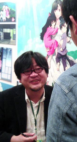 第一屆動漫節-細田守簽名會07