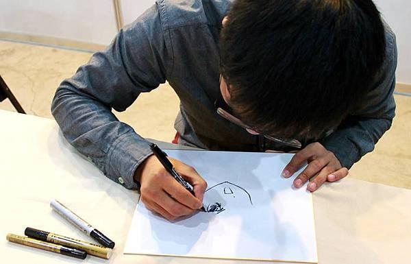 102台中動漫力-漫畫名家彭傑老師簽名會02