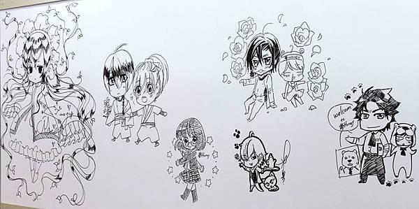 第3屆夢哈尼-簽繪牆01