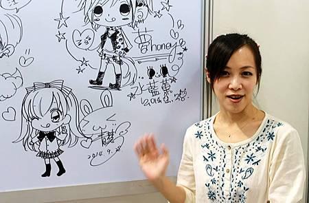 第3屆夢哈尼-簽繪牆02