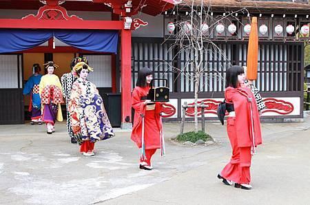 2014江戶村-花魁道中01