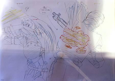 103SAOII動畫設定展-分鏡稿08