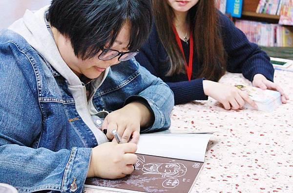 106游圭秀墨花香簽書會25