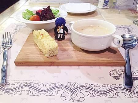 詩薩諾執事餐廳x黑執事10