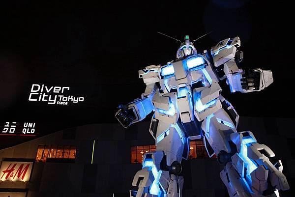 2017台場獨角獸鋼彈03