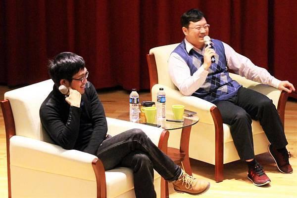 106彭傑&王士豪老師台北商業大學演講04