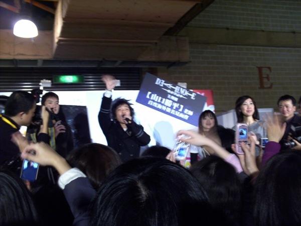 山口勝平簽名會9