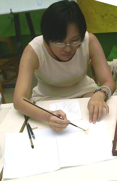 『林玉琴手繪示範座談會』09