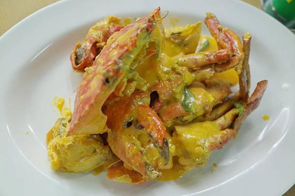 鹹蛋奶螃蟹
