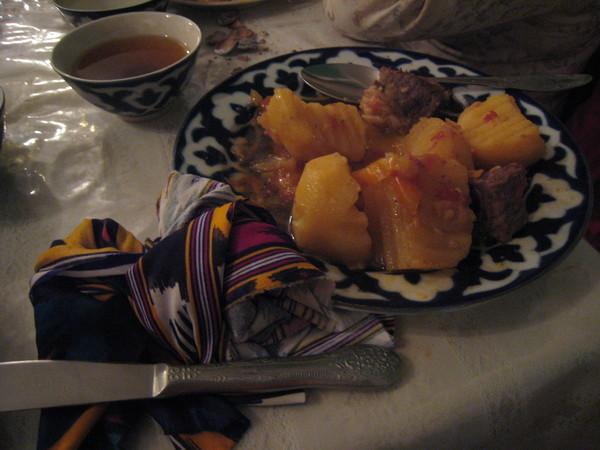 番茄馬鈴薯燉牛肉
