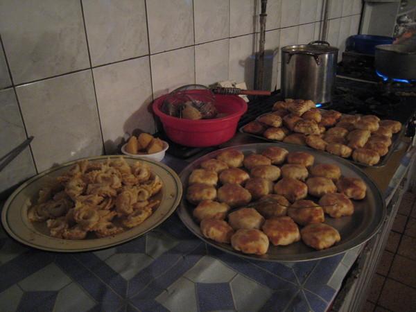 包子、酥餅和水餃