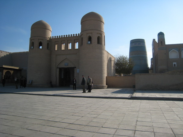 Khiva (希瓦) Inchan Qala view from west gate