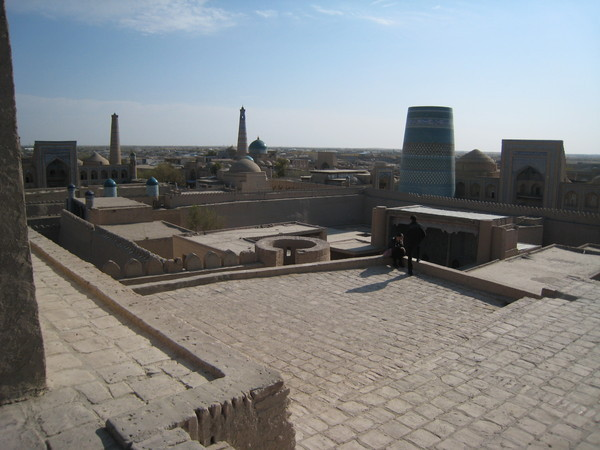 Khiva (希瓦)  Inchan Qala overview