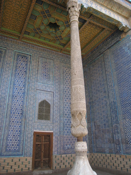 Khiva (希瓦)  Inchan Qala Tash Hauli Harem Decorations